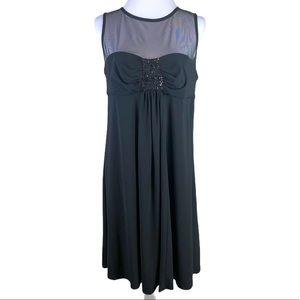 R&M Richards Elegant Evening Midi Dress